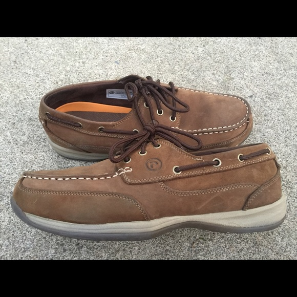bc7b3175d21 Men s Rockport Works Steel Toe Boat Shoes 11.5M. M 5b0d7429739d48e12e9482c7